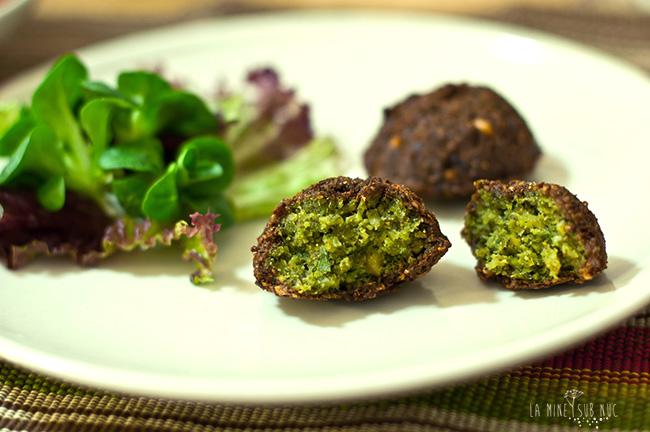 falafel verde parjoale vegane parjoale de post
