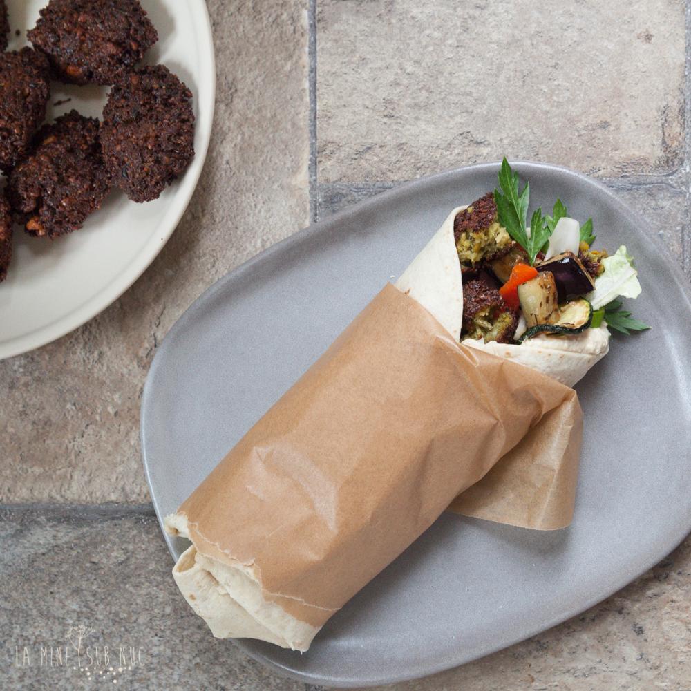parjoala vegana falafel reteta video