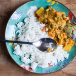 Curry indian de cartofi