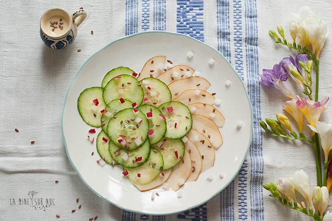 salata-de-vara-pere-castravete-ridichi