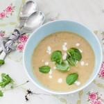 Supa crema de zucchini, morcov si lapte de cocos