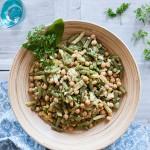 Salata de fasole verde cu naut