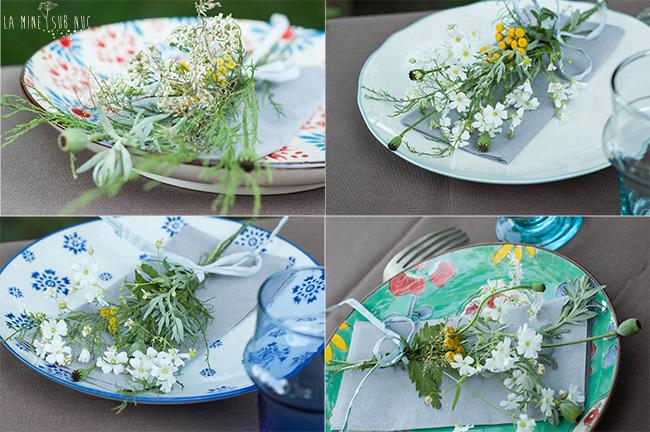flori in farfurie x 4