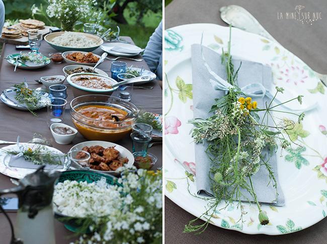 masa indiana masa de vara table setting