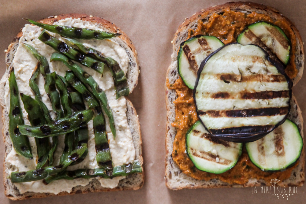 vegan pesto sandwich recipe