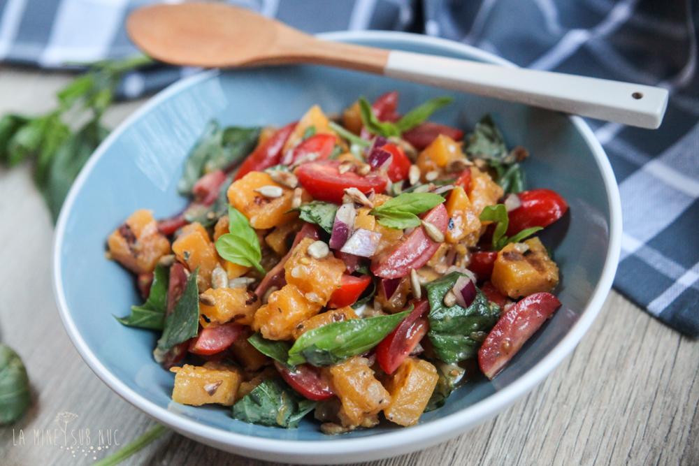 Salata de bostan mancare de post mancare vegana