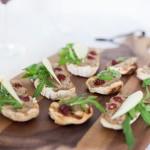 Tartine gourmet cu paté de linte