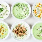 9 idei de topping pentru supe crema