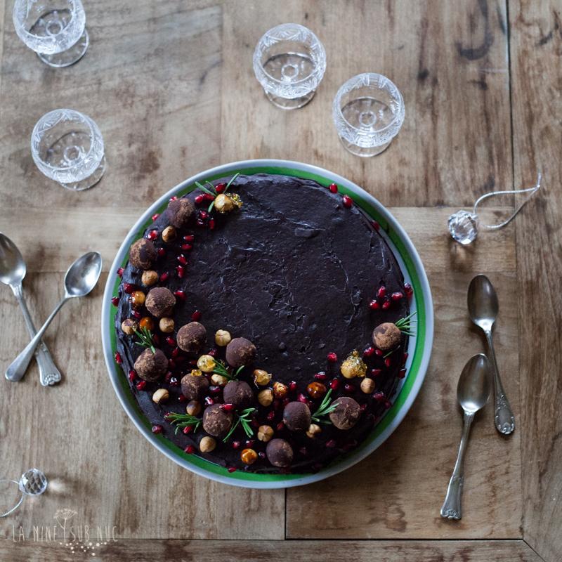 prajitura vegana ciocolata