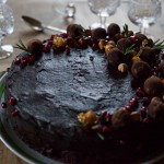 Tort vegan de ciocolata si castane