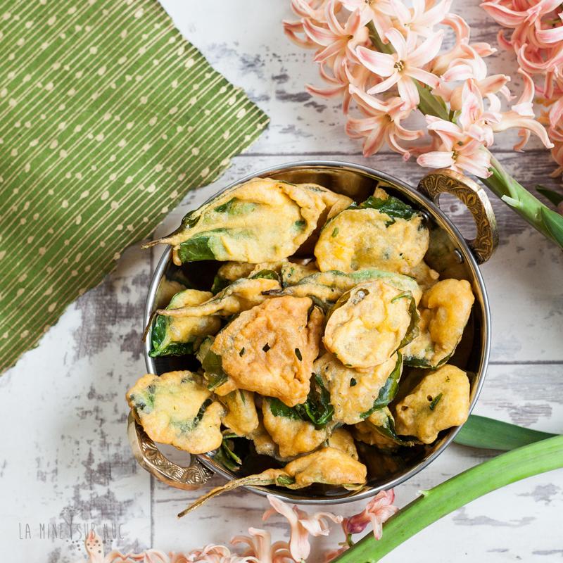 spanac crocant mancare indiana vegana retete vegane