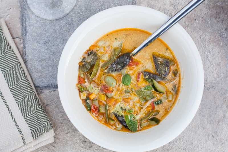 supa pistou vegana supa frantuzeasca