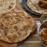 Aloo paratha: turte indiene cu cartofi (vegan)
