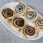 Saleuri spirala cu masline sau pizza (vegan)