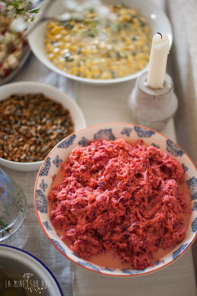 salata vegana de radacinoase