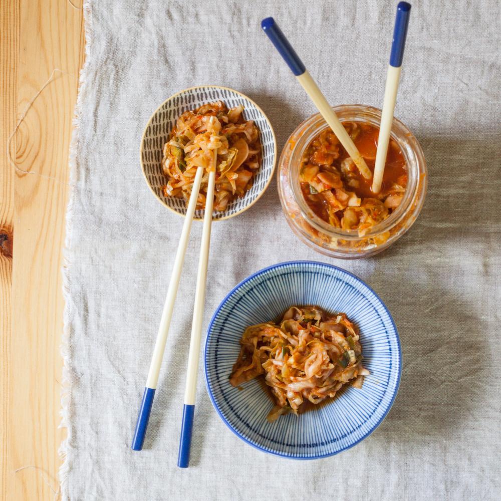 la mine sub nur retete vegane coreene kimchi fara peste